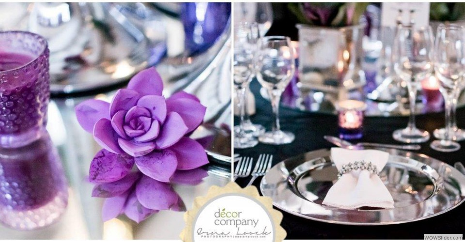 Glamour Wedding Decor